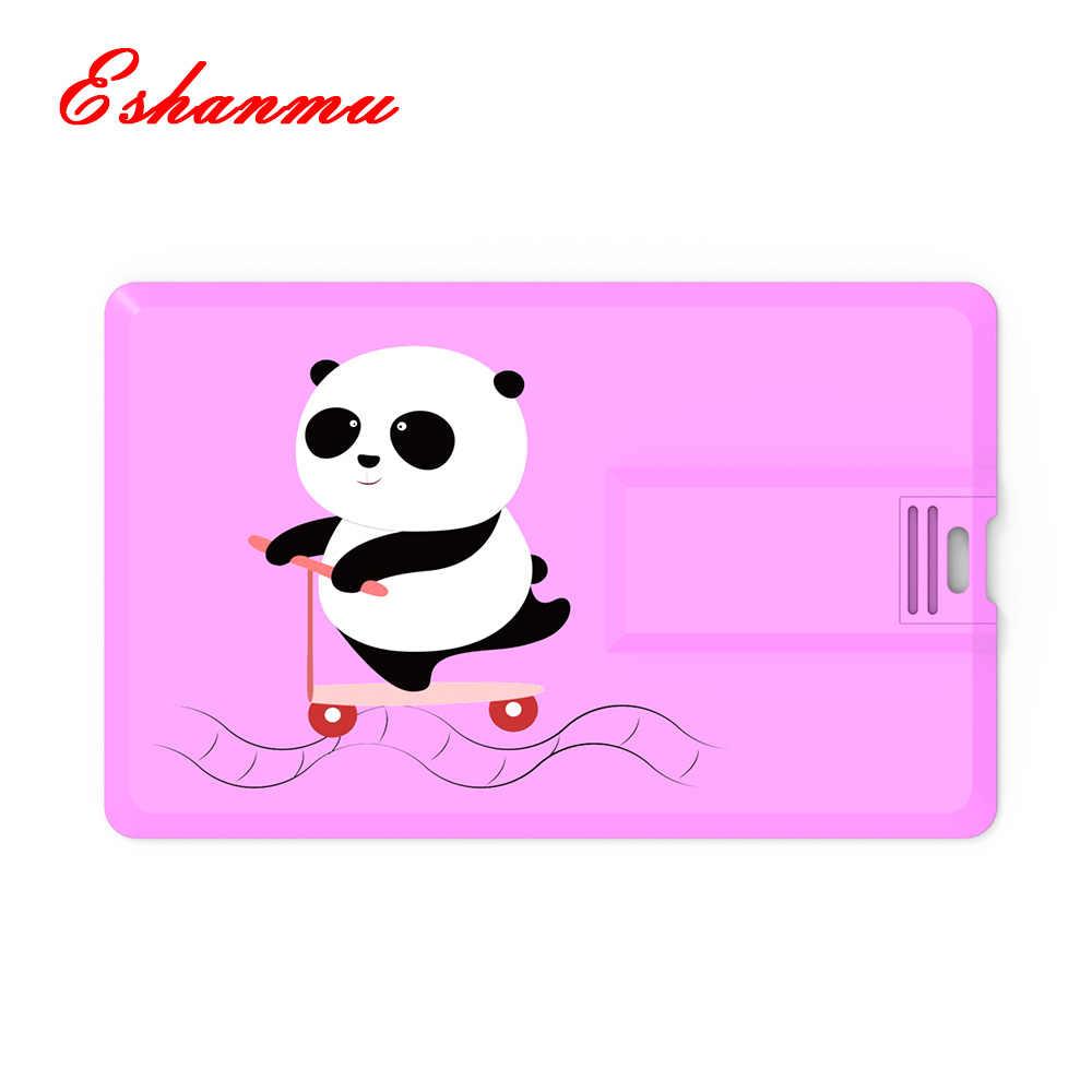 2019 ใหม่แฟชั่น Panda Usb Flash Drive Memory Stick 128 MB 4 GB 8 GB 16 GB 32 GB 64 GB 128 GB Stick