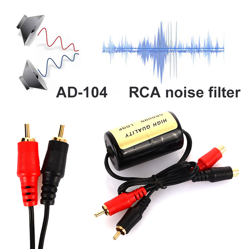 10Pcs Noise Suppressor Killer Noise Suppressor Filter Durable Audio Noise Filter APS Ground Loop Cable Ground Loop Isolator vehemo ground loop noise isolator noise isolator noise filter 3 5mm audio cable abs protable eliminate noise home