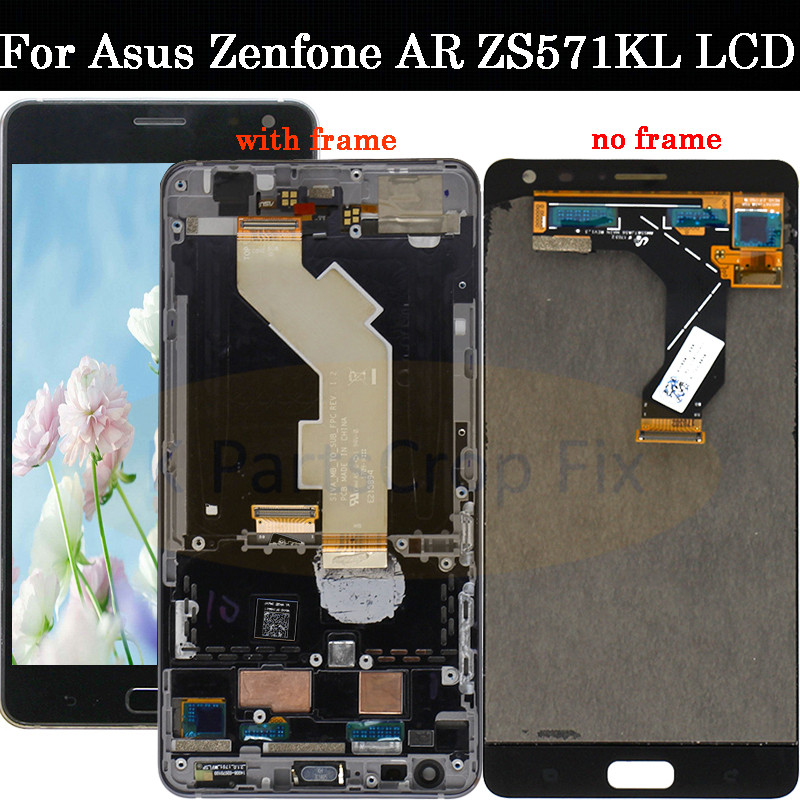 Original 5 7 1440x2560 For ASUS ZS571KL Display For Zenfone AR Screen LCD Display Assembly LCD