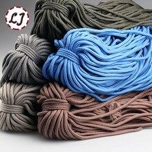 6 мм 9 цветов высокая прочность ручной работы дома DIY веревка из полиэфирного волокна шнуры для дома аксессуары ремесленных проектов S003