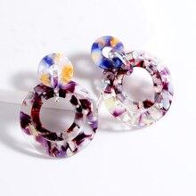 Fashion Korea earrings Geometric design earrings Hollow bohemian drop earrings for women jewelry Luxury christmas accessories