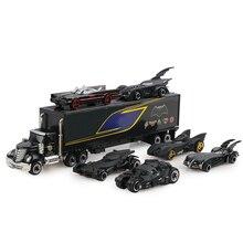 7 ピース/セットダイキャスト車 3: 169 トラックモデルおもちゃの車ギフトのためのクリスマス新年のギフトとして