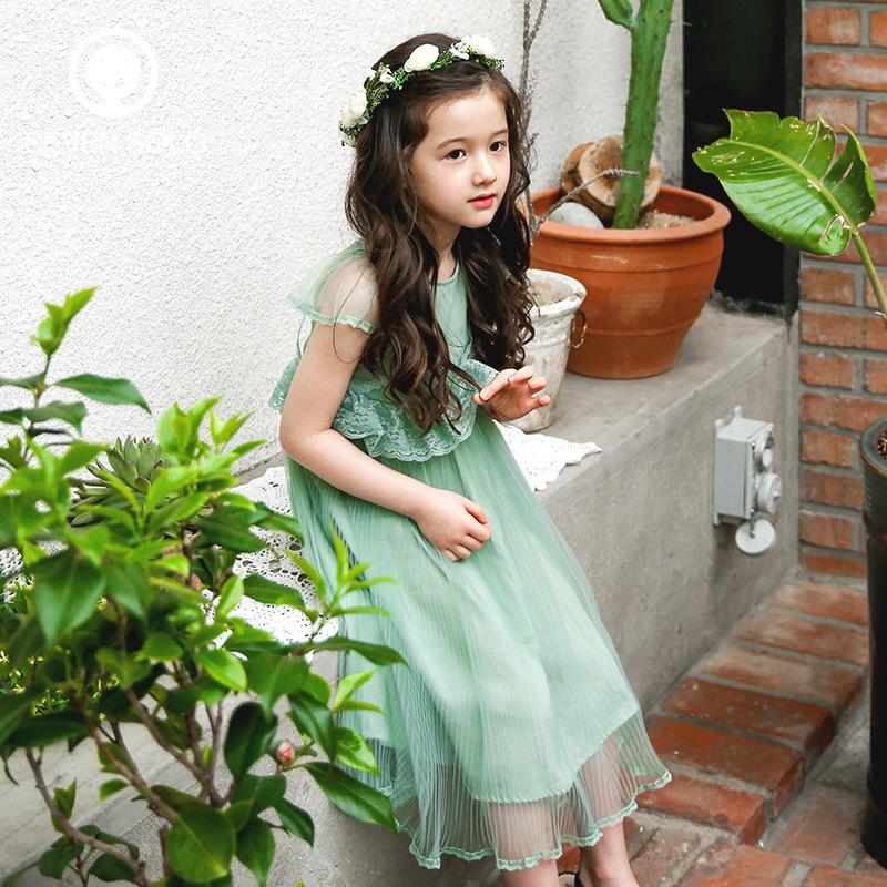 siete solo original diseo de marca nias vestido noble vestido de princesa de encaje ropa exclusiva para nios pequeos hembra