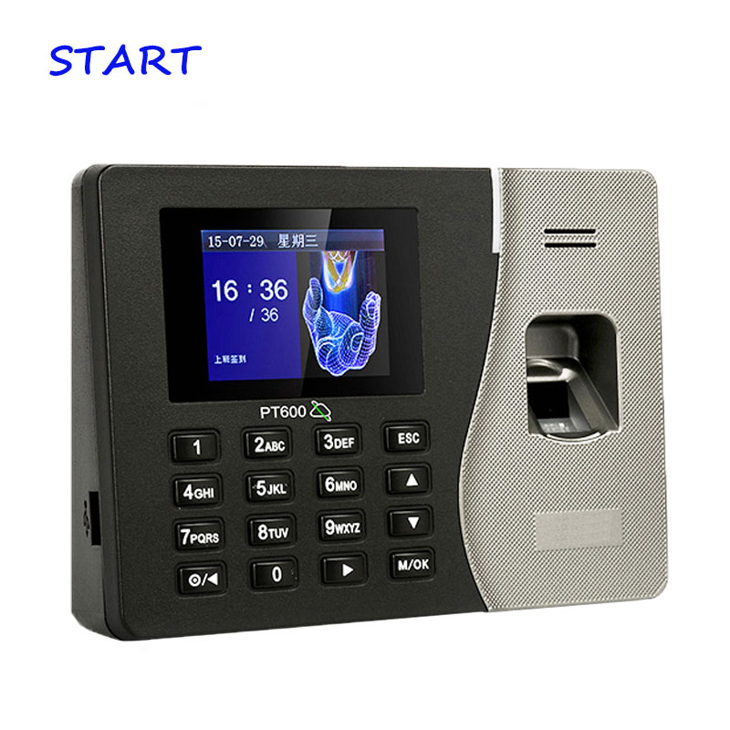 TCP/IP Biometric Fingerprint Time Attendance Employee Electronic Attendance With Fingerprint Reader