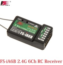 Flysky FS-iA6B 2.4G 6Ch RC Receiver PPM Output with iBus Port Compatible For Flysky i4 i6 i10 Transmitter Free shipping
