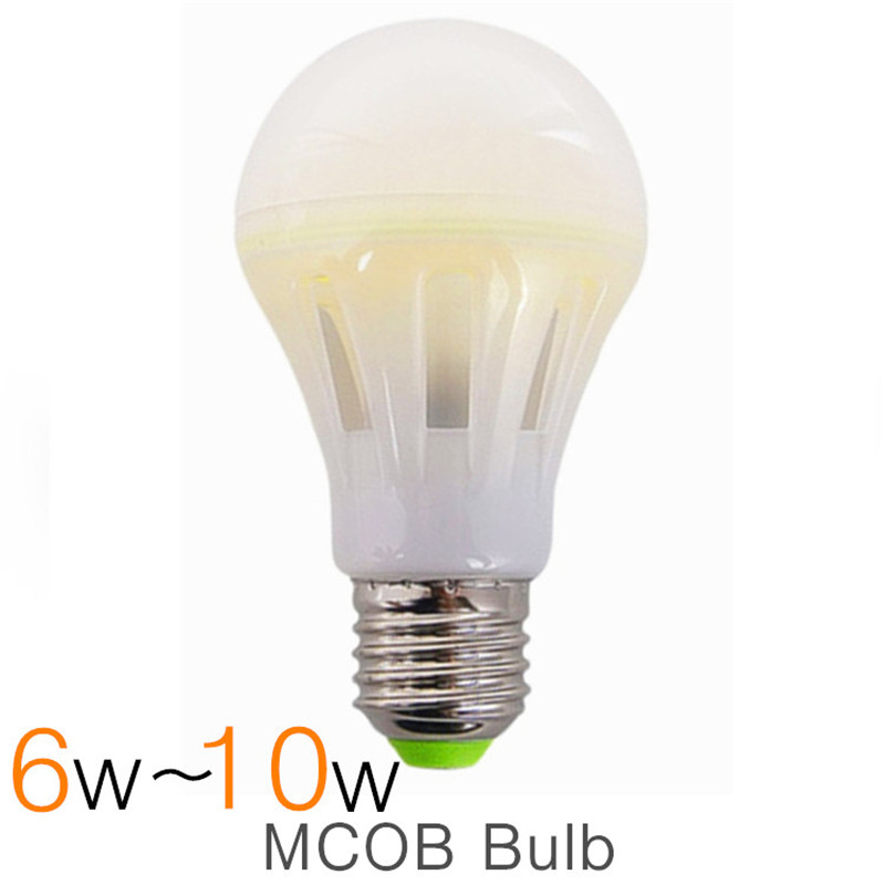 New High Power Bright Cob Filament Led Bulb Light Lamp Mcob Led Bulb E27 220v 6w 8w 10w Durabulb