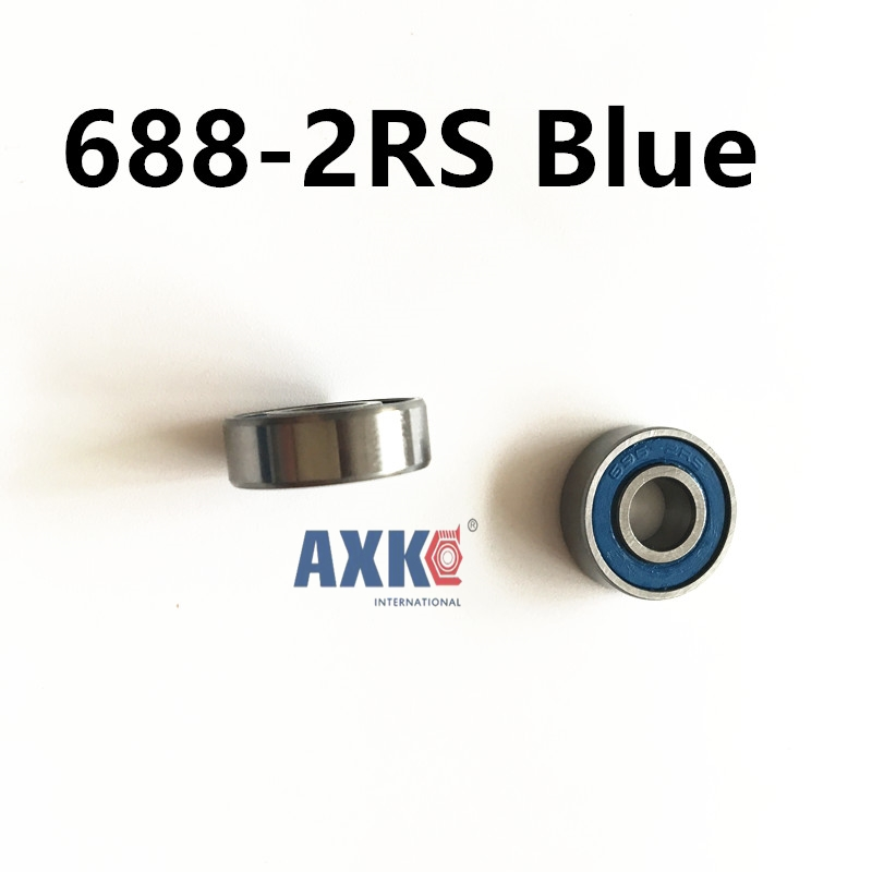 Skate board bearing 688 688-2RS 688-RS  L1680 8x16x5 mm  new coming shoe bearing usded for toy/ machine 10pcs skate board bearing 686zz 686 2z 686 z 6x13x5 mm 2015 new coming shoe bearing abec3