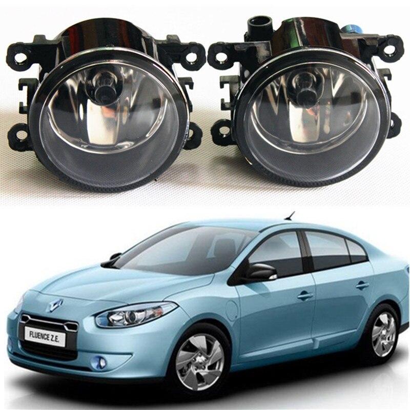 For Renault TWINGO GRAND SCENIC MASTER TRAFIC LOGAN Laguna DUSTER Kangoo LATITUDE Car styling Fog lights halogen lamps 1set куплю тормозные колодки на renault scenic rx4