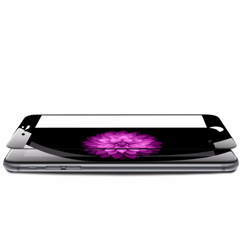 Full Body Black & White Premium color for iPhone 5 5S SE 7 6 6S Plus 7plus Original Screen guard Protector film phone Case