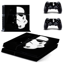 Movie Star War Decal Skin PS4 Cover for Playstaion 4 Console PS4 Skin Stickers+ 2 Controller Protective Skins