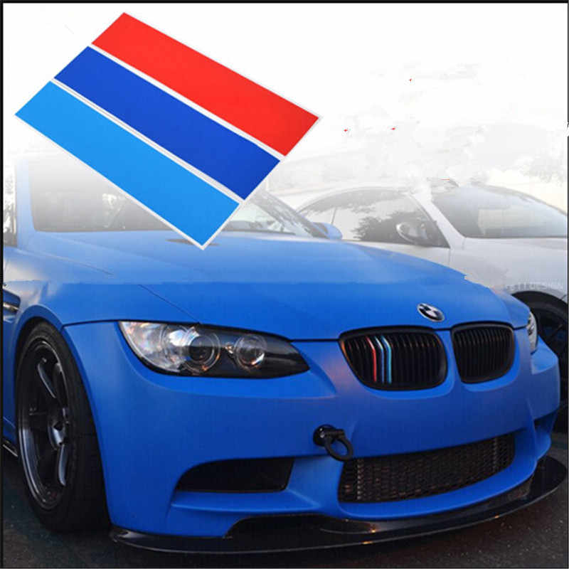 Stickers Front Grill Stripes Decals M Sport For Bmw M3 M5 M6 E46 E39