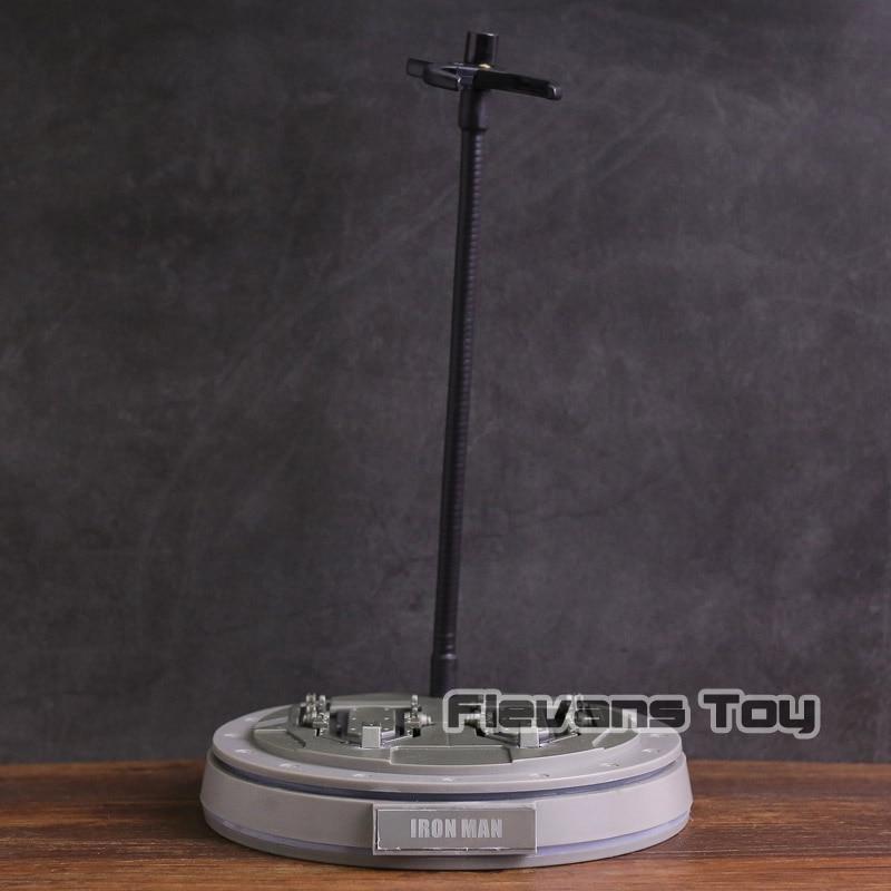 Marvel Avengers Iron Man Model Iuminous Base with Light Figure Display Stands