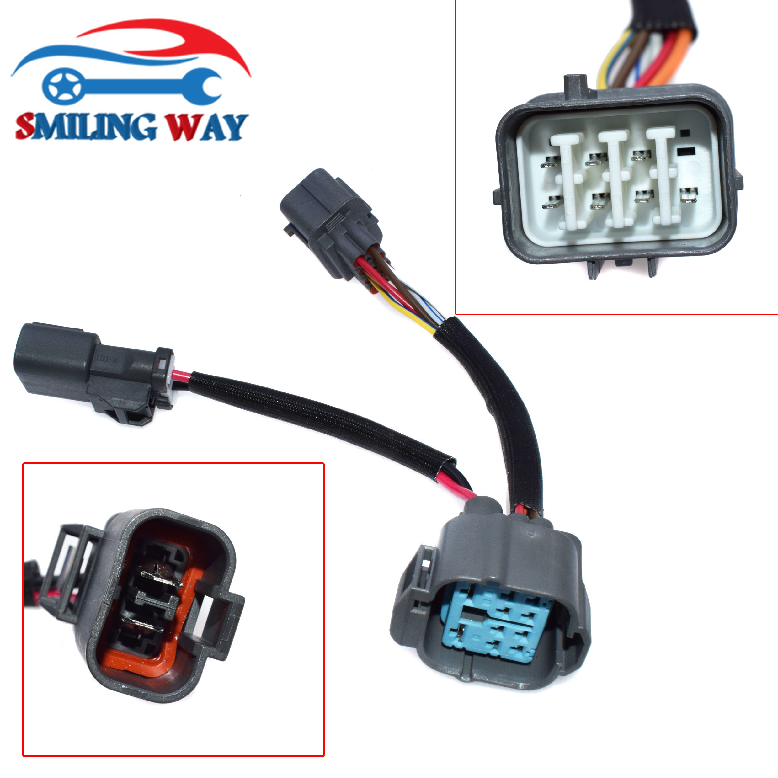 obd1 to 10-pin obd2 distributor jumper connector wire harness wiring cable  for acura integra