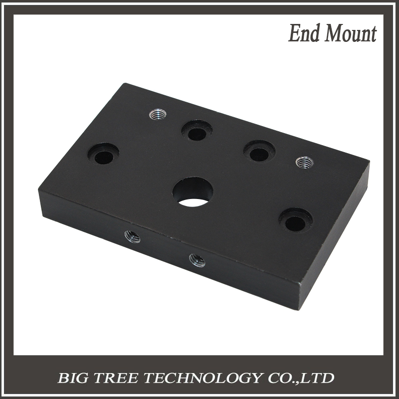 2PCS Rerap CNC Reprap 3D printer DIY parts C-Beam Z axis Actuator end Plates C-Beam End Mount