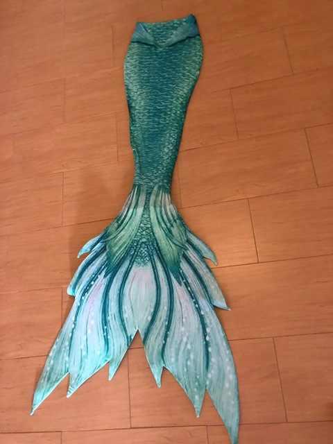 ปรับแต่งรูปแบบที่แตกต่างกัน Mermaid Tail ชุด 3 ชิ้นหญิงว่ายน้ำเมอร์เมดหาง Monofin ผู้ใหญ่เด็ก Swimmable คอสเพลย์