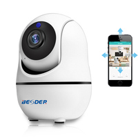 BESDER HD 1080P 720P Home Security PTZ IP Camera Wi-Fi Wireless Mini Camera Audio Wifi Security CCTV Camera Baby Monitor iCSee Surveillance Cameras