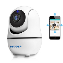 BESDER HD 1080P 720P Home Security PTZ IP Camera Wi-Fi Wirel