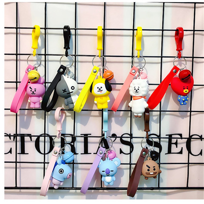Good 8pcs/lot Bangtan Boys Bts Bt21 Soft Vapp Plush Toy Kid Fan Collection Kawaii Keychain Stuffed Doll Tata Van Cooky Shooky Koya Stuffed Animals & Plush