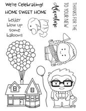 Sweet Home Transparent Clear Silicone Stamp Seal DIY Scrapbooking Photo Album Decorative A0396