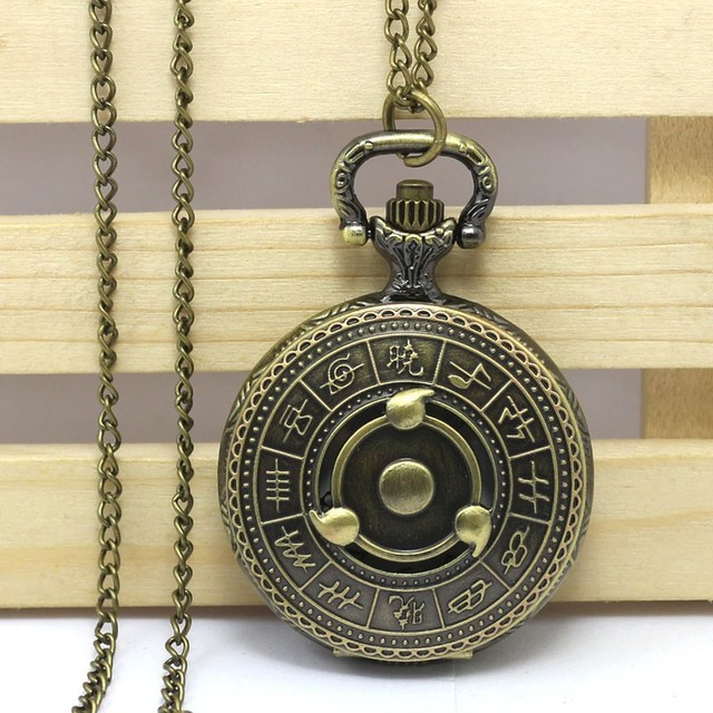Naruto Pocket Watch Necklace