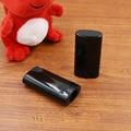 60pcs/lot 15ml black Deodorant Container Lotion Bar 15g Oval Twist Tube Round Lip Balm 0.5oz free shipping