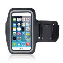 Uniwersalny boisko sportowe uchwyt na telefon etui z opaską na ramię dla Ulefone P6000 Plus siłownia bieganie torba na telefon etui z opaską na ramię dla Ulefone Power 6 tanie tanio For Blackview A9 Pro ABCTen
