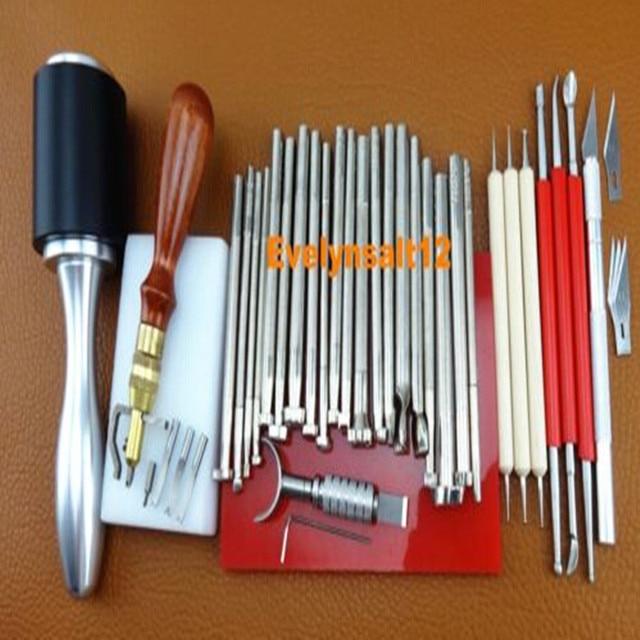 Hecho a mano troqueladora de cuero herramientas de - Herramientas para bricolaje ...