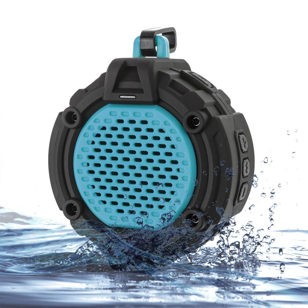 Perfect Bathroom Sounds Outdoor Speaker W Mic Hook Flashlight Waterproof Intended Design Decorating