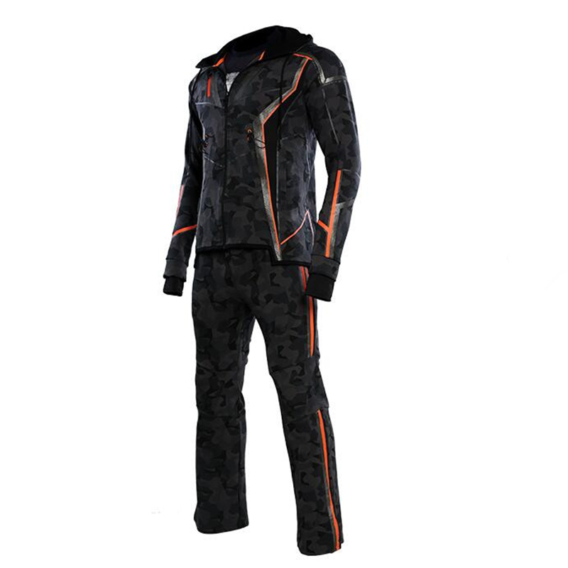 Image 4 - NEW Movie TV Avengers Infinity War IronMan Tony Stark Cosplay costume Jacket Coat Hoodie Top Pants Cool Gift For four seasons-in Movie & TV costumes from Novelty & Special Use
