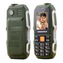 Newmind f6000 russische türkisch, arabisch, lange standby-dual-karte großen stimme taschenlampe fm 3,5 kopfhörer jack robusten mobilen telefon p176
