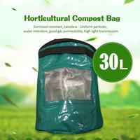 PE Blume Topf Regenwurm Gartenarbeit Kompost Tasche Hausgemachte Organische Abfälle kompost bakterien Feed Taschen Für Tee Obst Gemüse Wachstum