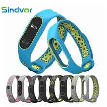 Dual color Miband 2 Strap Bracelet pulseira mi band Replacement Silicone Wriststrap for xiaomi mi2 Smart