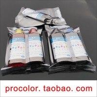 Pgi-顔料インクcli-126 cli126染料インク詰め替えカートリッジキット用canon pixma mg5210 mg5310 mg 5210 5310インクジェットプリンタ
