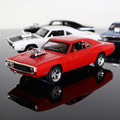 Fast & Furious 7 Dodge Charger Pull Back Toy Cars 1:32 Scale Alloy Diecast Car Model Kids Toys Collection Gift