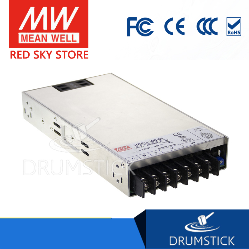 MEAN WELL HRP-300-7.5 7.5V 40A meanwell HRP-300 7.5V 300W Single Output with PFC Function  Power Supply selling hot mean well epp 300 48 48v 6 25a meanwell epp 300 48v 300w single output with pfc function