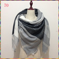 New winter Cashmere Shawl Desigual Plaid Scarf pashmina women scarf luxury brand scarves hot sale za scarf