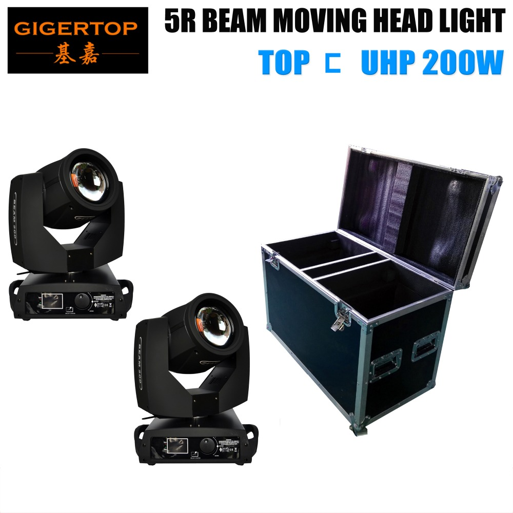 Top selling!!! Beam 5R, 16 Facet Moving Head Beam 200W 8 prism, Orignal TOP UHP Bulb, 5r Beam Flight Case 2IN1 Packing 90V-240V supra ih03 5r