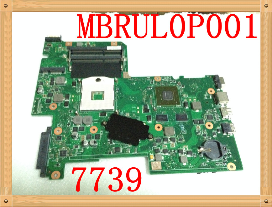 Original FOR ACER ASPIRE 7739 SERIES NOTEBOOK MOTHERBOARD MB.RUL0P.001 MBRUL0P001 AIC70 MAINBOARD fully tested Original FOR ACER ASPIRE 7739 SERIES NOTEBOOK MOTHERBOARD MB.RUL0P.001 MBRUL0P001 AIC70 MAINBOARD fully tested