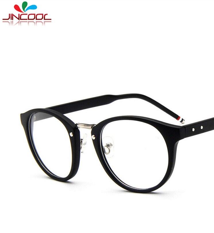 JinCool 2016 Brand Browne Round Glasses Men Vintage Eyeglasses ...