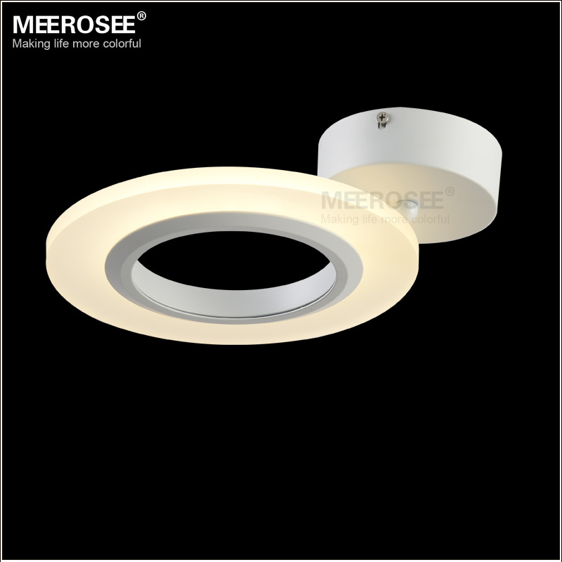 Small Fashion Acrylic LED Ceiing Light LED Surface Mounted Ceiling Lamp Reading Bedroom Application Light Fitting Free Shipping