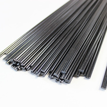 black PE double round 2.5x5.0mm rods for auto car plastic bumper welding hot air gun solder stick