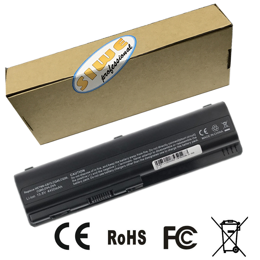 все цены на Replacement laptop battery for HP DV4 DV5 DV6 CQ40 CQ41 CQ60 CQ61 G61 Free shipping 6 cells онлайн