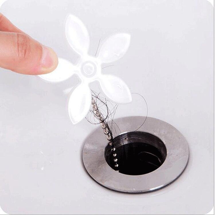 1 PC Useful Bathroom Bathtub Drain Hair Cather Cleaner Drain ...