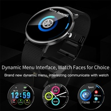 696 L6 Smart Watch IP68 Waterproof Wearable Device Heart Rate Monitor Color Display Smart Watch For Android IOS