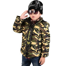 Kids Down Coat Winter Goose Down Jacket Boys reima Children's Warm Jackets Outwear Big Hoodie Cotton Duck Down parka camouflage