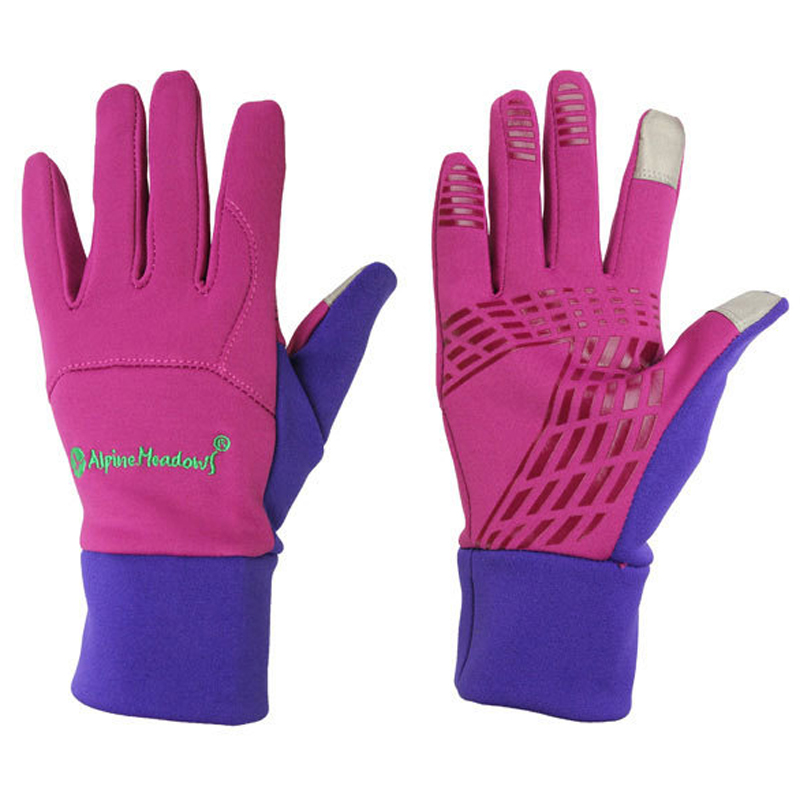 Hot Sale Horse Riding Gloves Women Men Child Windproof Touch Screen Equitacion Gloves 4 Color