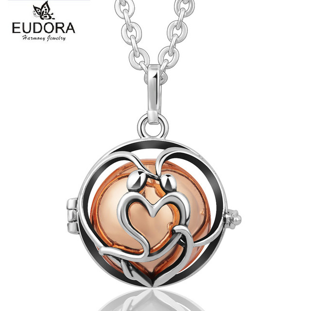 Aliexpress buy antique copper angel caller eudora harmony ball antique copper angel caller eudora harmony ball chime sound mexican bola floating locket mother child necklace aloadofball Images