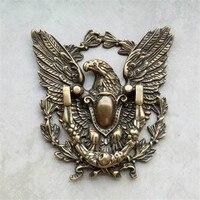 1 шт. античная латунь кольцо с орлиными лапами тянуть дверь Тянет дверные ручки из металла ручной защелки с полукруглой ручкой стены ворота