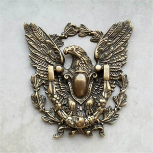 1 Piece Antique Brass Eagle Ri