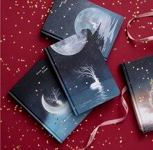 """""""Досуг праздник"""" твердая обложка, дневник Красивый Блокнот Журнал Блокнот черные бумаги бесплатно Примечание канцелярский подарок"""